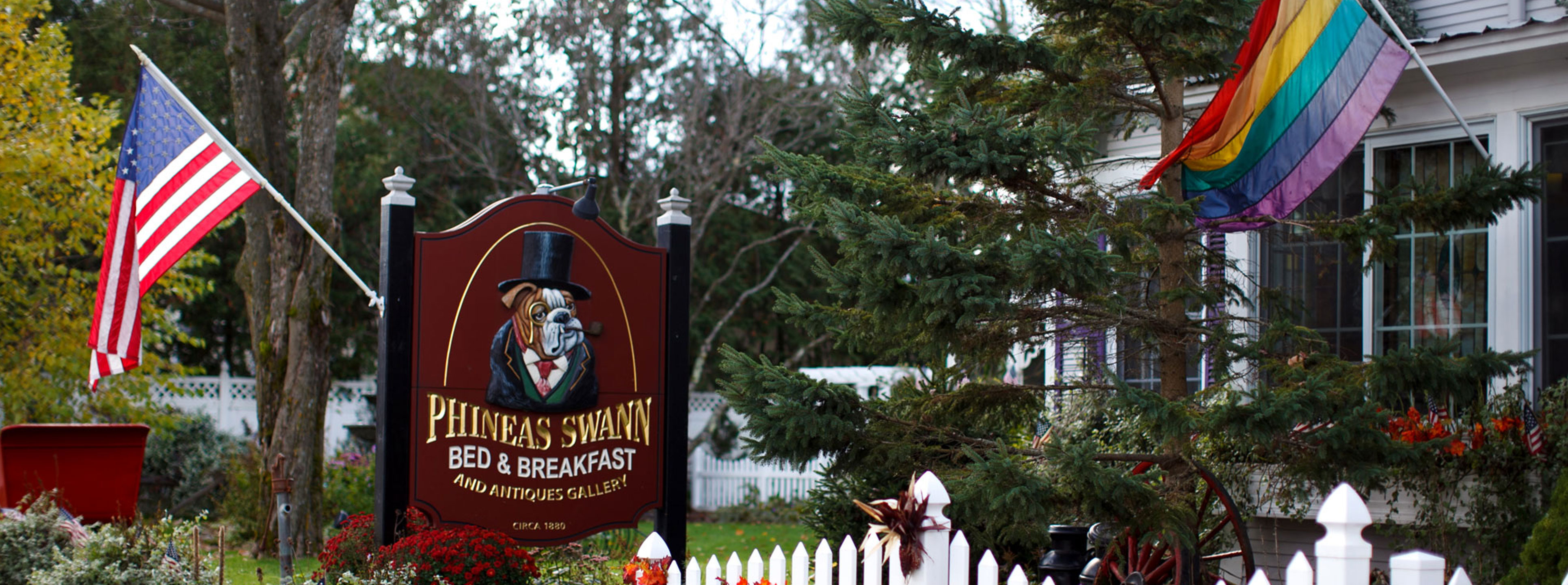 Phineas Swann bed and breakfast inn near Jay Peak in Montgomery Center Vermont