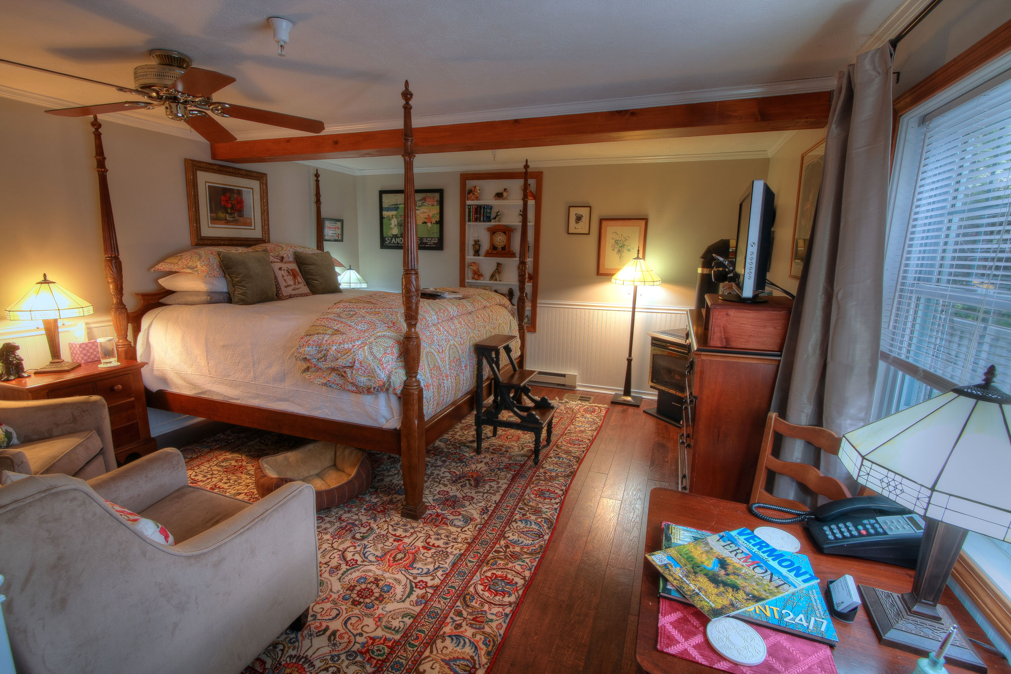 The Honeymoon Suite Phineas Swann Bed And Breakfast Inn